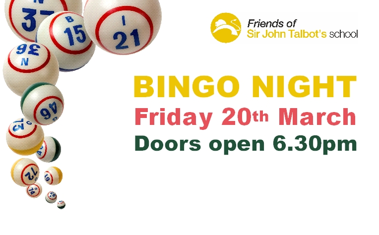 Bingo Night - Friday 20th March