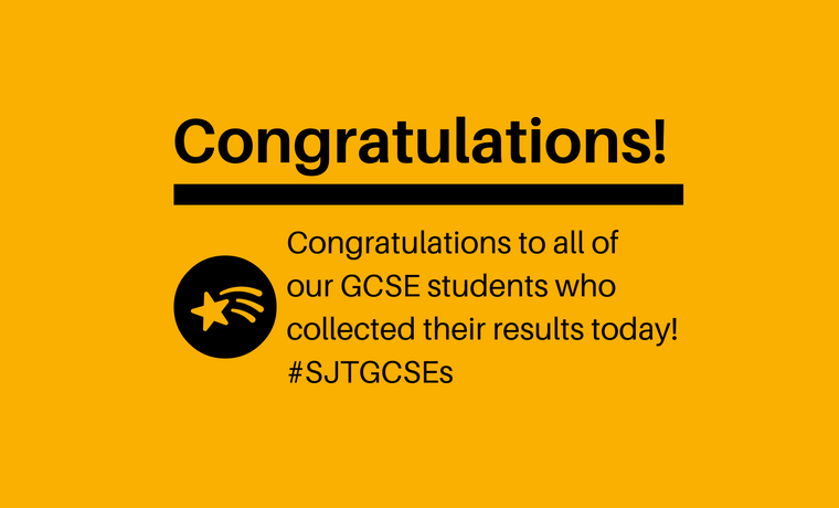 Click here to view GCSE results!
