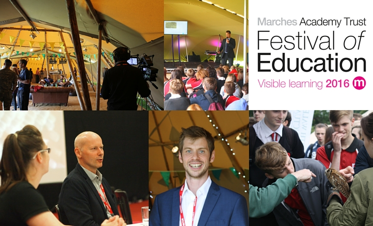 Find out about our first ever Festival of Education here